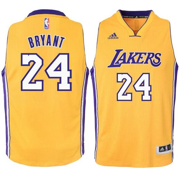 82053898b Adidas Other - LA Lakers Kobe Bryant Gold Swingman Jersey